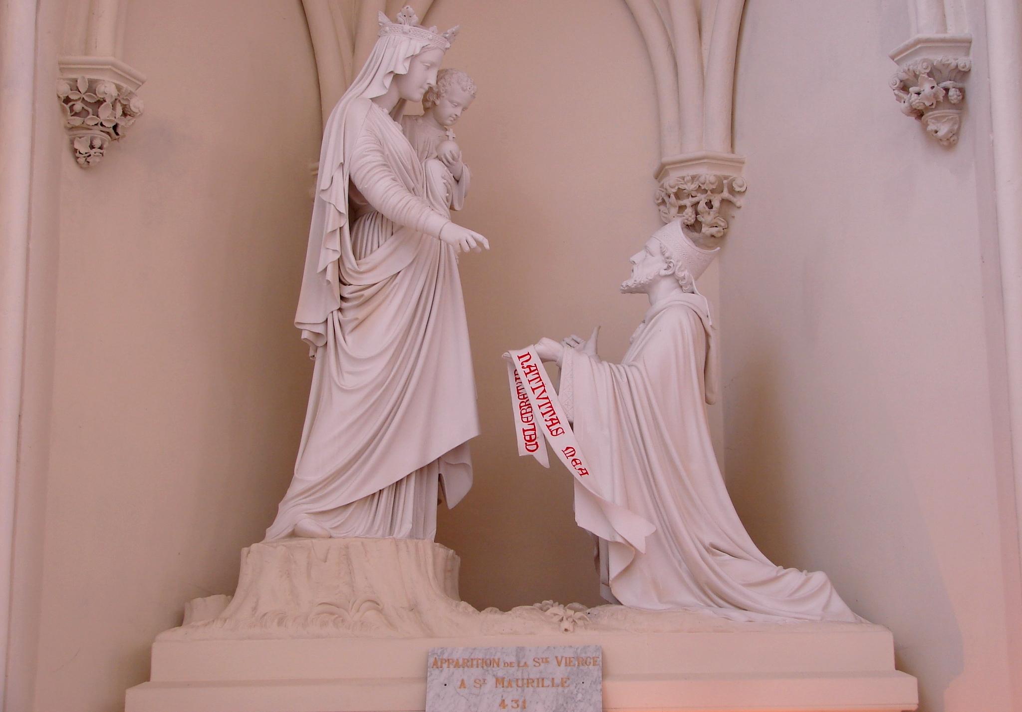 CALENDRIER CATHOLIQUE 2019 (Cantiques, Prières & Images) - Page 9 Apparition-de-la-...maurille-568fa59