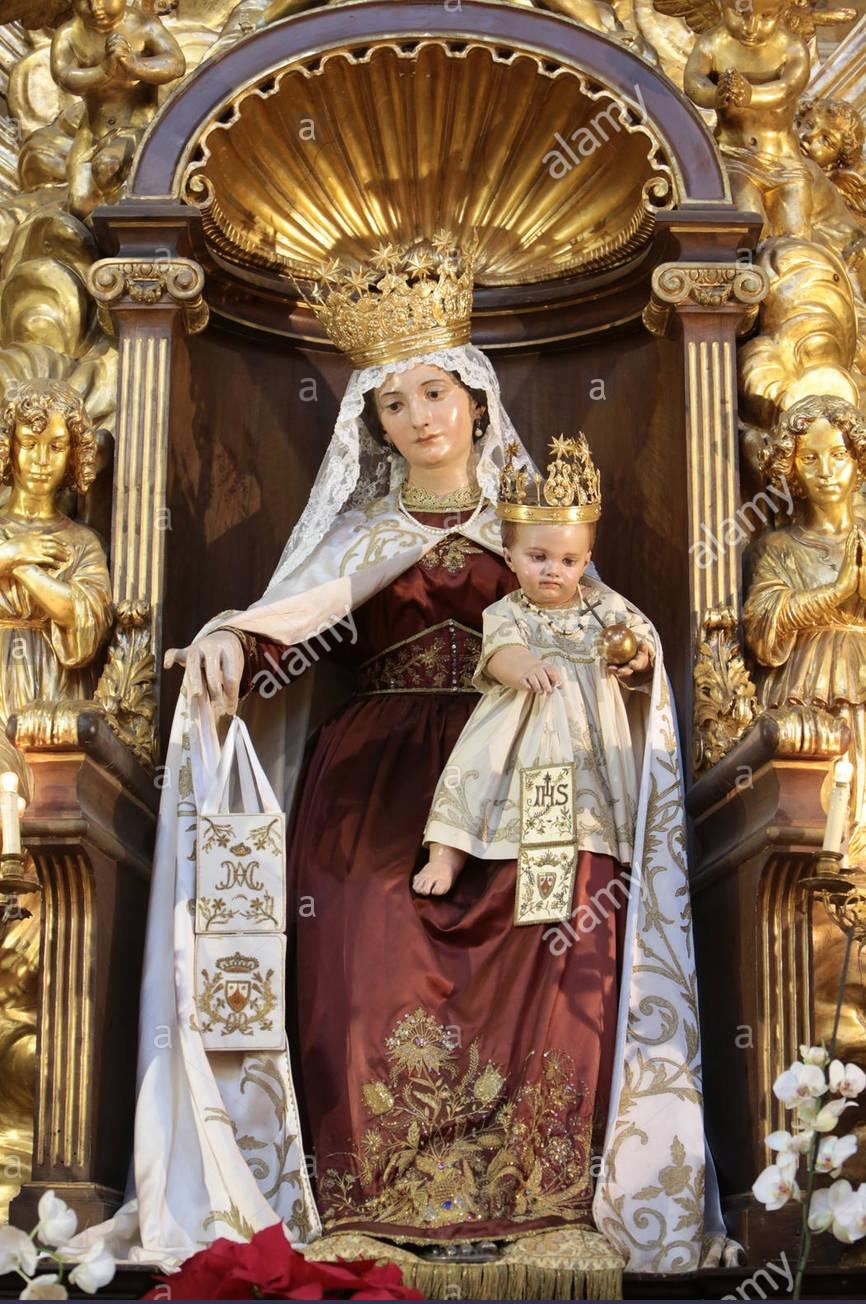 CALENDRIER CATHOLIQUE 2020 (Cantiques, Prières & Images) - Page 20 Notre-dame-du-mon...pontina--578e630