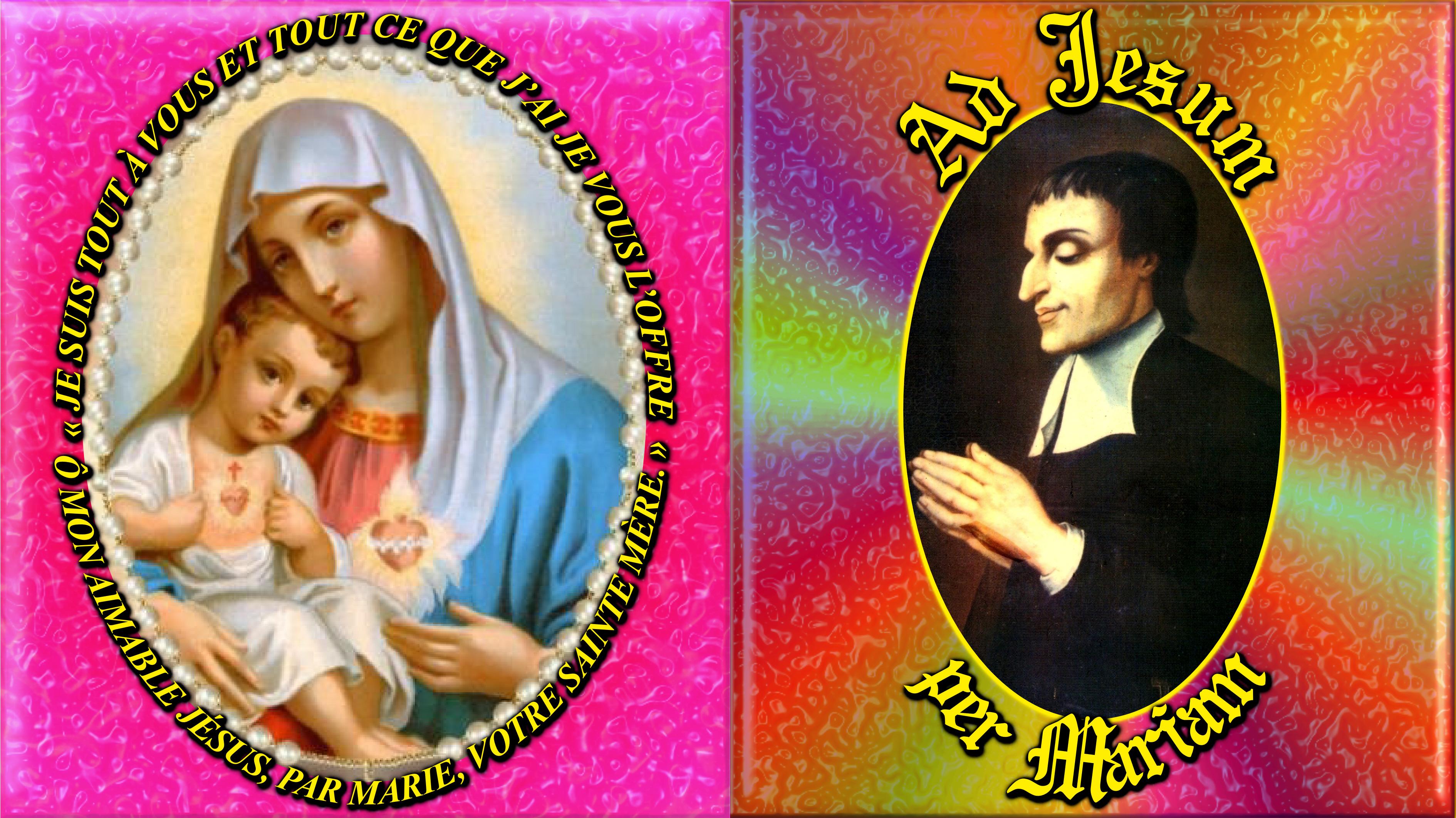 CALENDRIER CATHOLIQUE 2020 (Cantiques, Prières & Images) - Page 12 Cons-cration-mont...-mariam--5749348