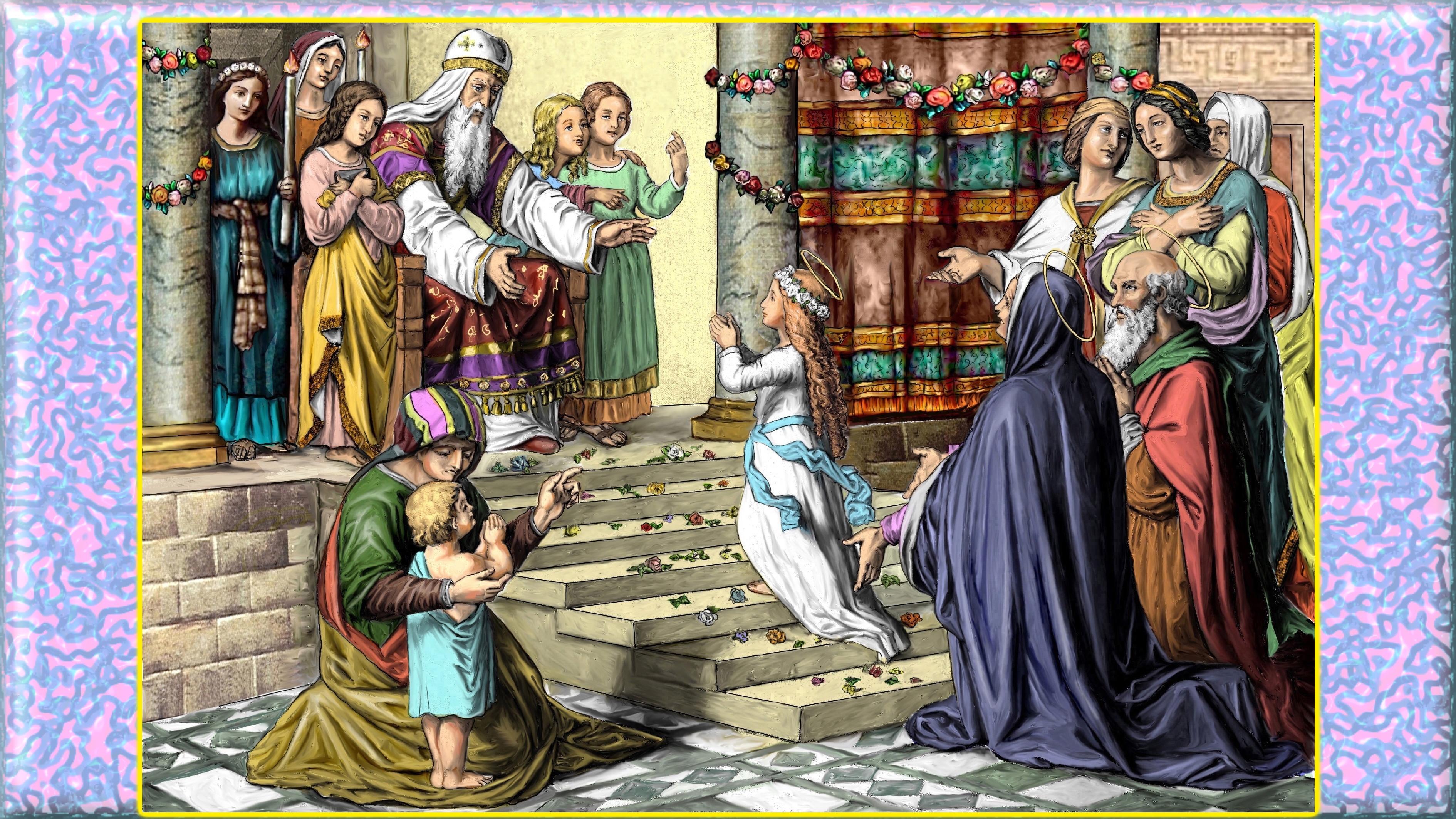 Le CULTE & le PATRONAGE de SAINTE ANNE par le R.P. Mermillod Pr-sentation-de-l...u-temple-5789d70