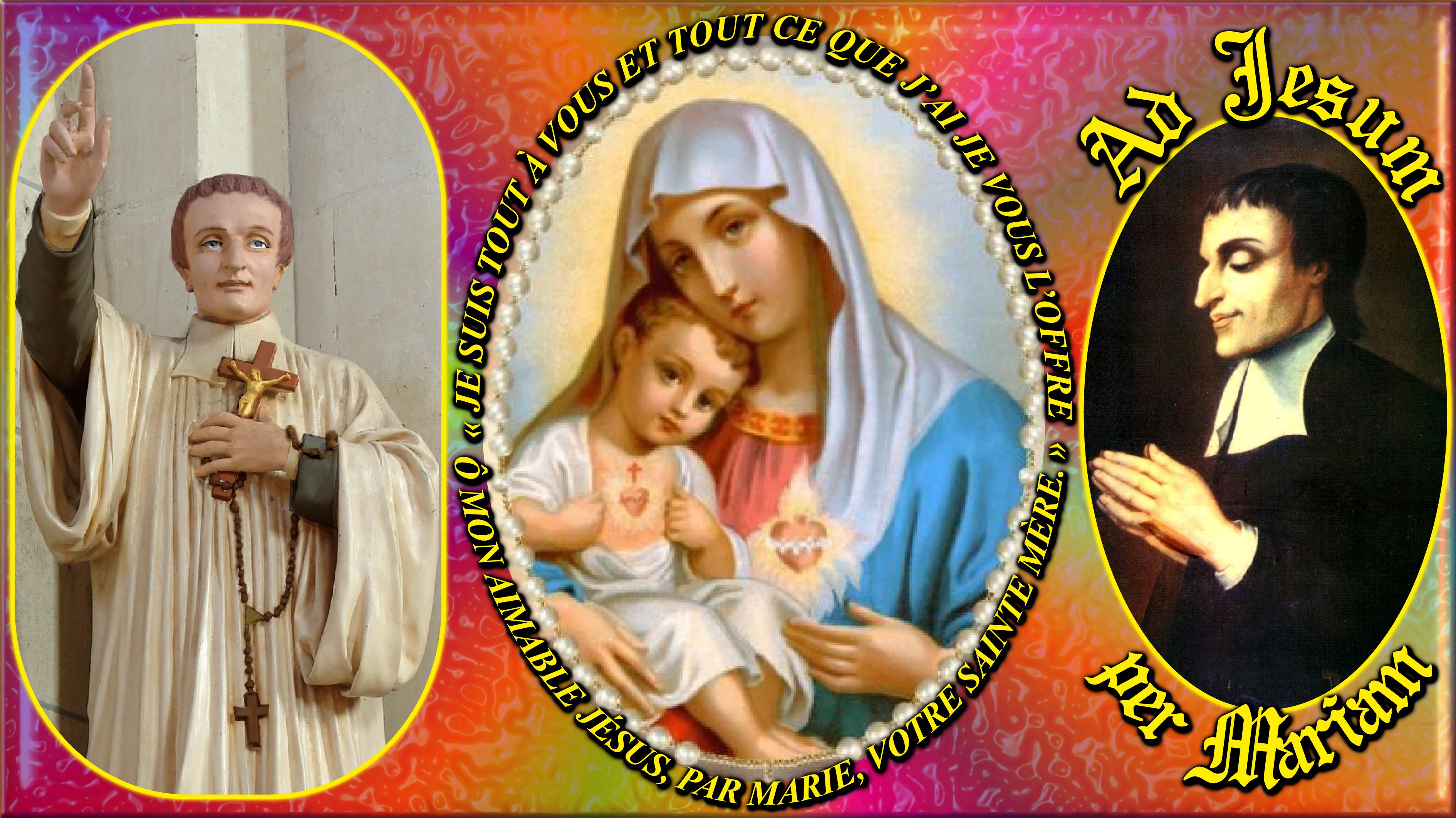 CALENDRIER CATHOLIQUE 2020 (Cantiques, Prières & Images) - Page 12 Cons-cration-du-p...-mariam--574f50a