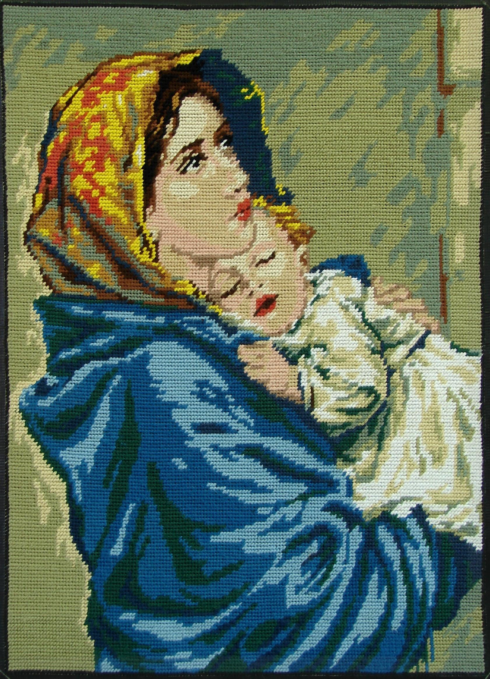 NEUVAINE de NOËL Vierge-l-enfant-canevas--56e1a6c